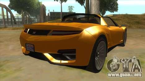 GTA V Dynka Jester Spider para la visión correcta GTA San Andreas