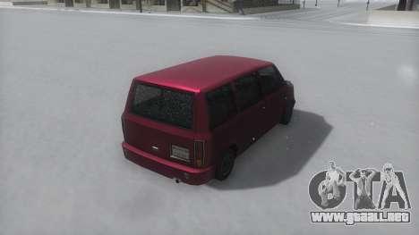 Moonbeam Winter IVF para la visión correcta GTA San Andreas