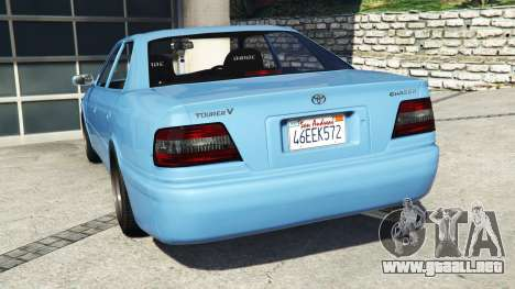GTA 5 Toyota Chaser (JZX100) v1.1 [add-on] vista lateral izquierda trasera