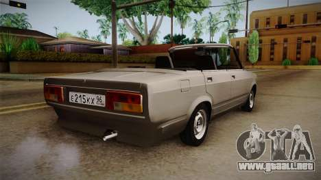 VAZ 2105 Convertible para GTA San Andreas left