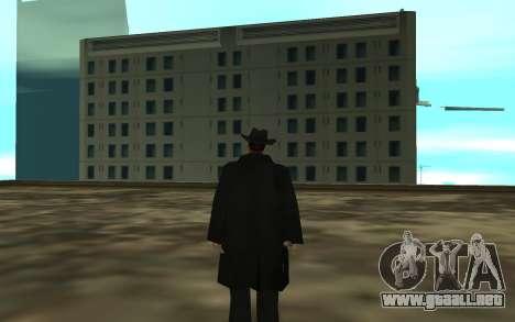 The BOSS para GTA San Andreas tercera pantalla