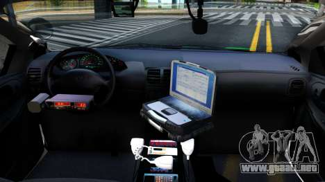 Dodge Intrepid German Police 2003 para visión interna GTA San Andreas