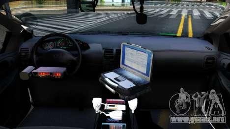 Dodge Intrepid German Police 2003 para visión interna GTA San Andreas