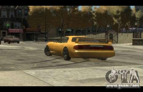 ZR 350 GTA San Andreas v1.0 para GTA 4 Vista posterior izquierda