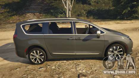 GTA 5 Chrysler Pacifica Limited 2017 vista lateral izquierda