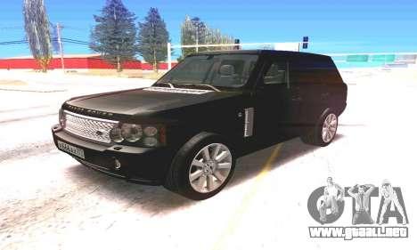 Land Rover 2010 para GTA San Andreas left