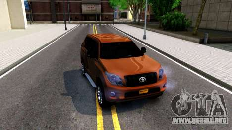 Toyota Land Cruiser Prado para GTA San Andreas left