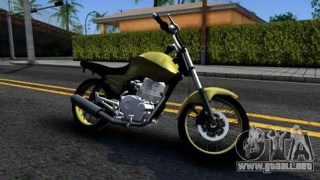Honda Titan 150 Stunt para GTA San Andreas left