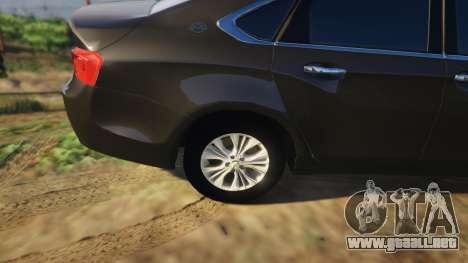 GTA 5 Chevrolet Impala 2015 vista lateral derecha