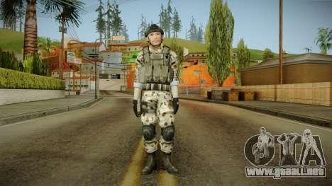 Resident Evil ORC Spec Ops v5 para GTA San Andreas segunda pantalla