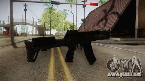 Call of Duty Ghosts - AK-12 para GTA San Andreas segunda pantalla