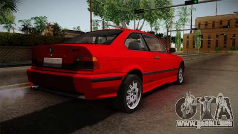 BMW 328i E36 Coupe para GTA San Andreas left
