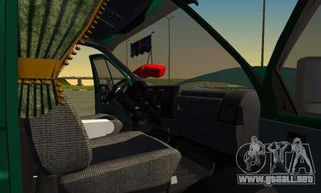 Gazelle Agricultor v2 para vista lateral GTA San Andreas
