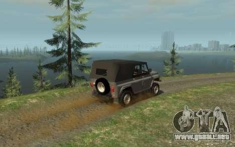 УАЗ 469 (Paul Black prod.) para GTA 4 left