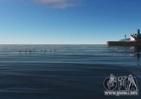 MMGE 3.0 para GTA San Andreas quinta pantalla