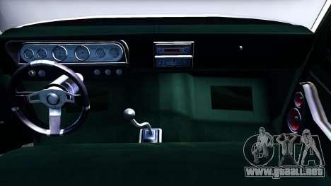 Ford F-350 Plataforma para visión interna GTA San Andreas