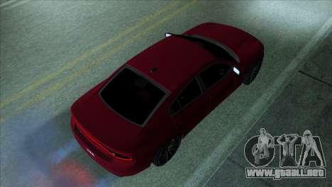 2016 Dodge Charger RT Forza Horizon 2 para GTA San Andreas left