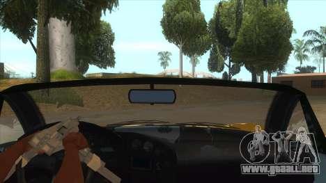 GTA V Dynka Jester Spider para visión interna GTA San Andreas