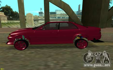 Toyota Chaser Sport para GTA San Andreas left