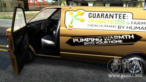GTA V Declasse Burrito Commercial para visión interna GTA San Andreas