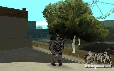 The Ballas 4 para GTA San Andreas tercera pantalla