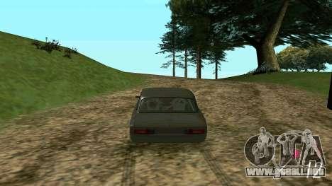 Forza Horizon 3 Speedometer para GTA San Andreas tercera pantalla