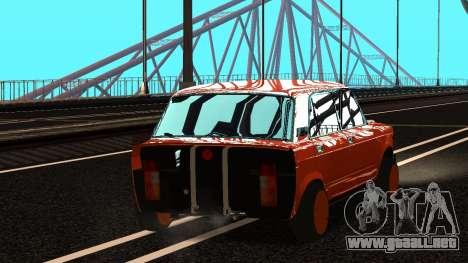 VAZ 2105 parche 3.0 para GTA San Andreas left