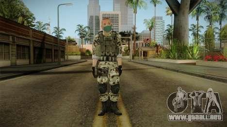 Resident Evil ORC Spec Ops v7 para GTA San Andreas segunda pantalla