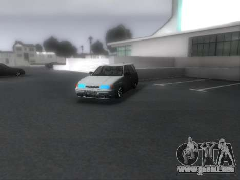 VAZ 2111 Audio para la visión correcta GTA San Andreas