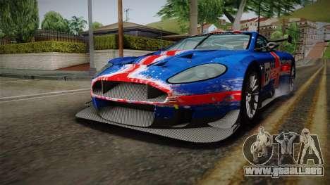 Aston Martin Racing DBRS9 GT3 2006 v1.0.6 para las ruedas de GTA San Andreas