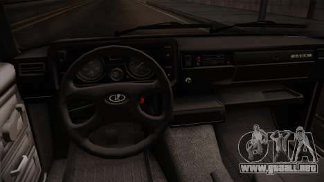 VAZ 2105 Convertible para visión interna GTA San Andreas