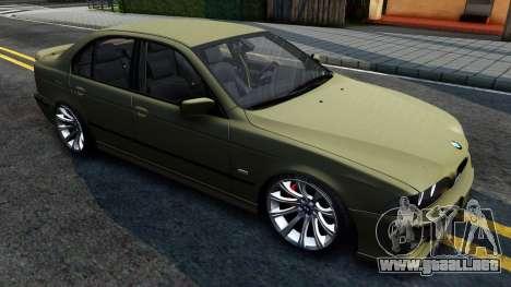 BMW 530D E39 para GTA San Andreas left