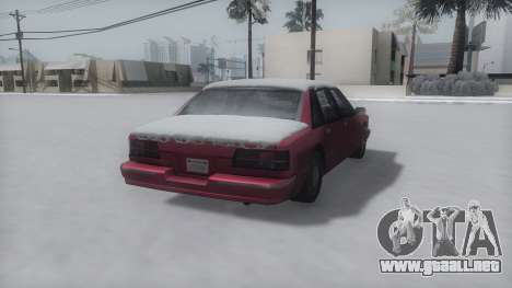 Premier Winter IVF para GTA San Andreas left