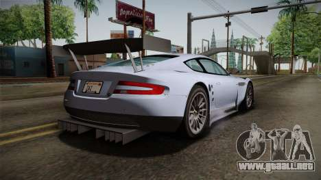 Aston Martin Racing DBR9 2005 v2.0.1 para GTA San Andreas left