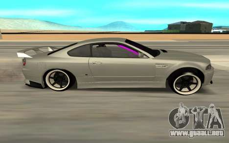 Nissan Silvia S15 Face BMW 46 para GTA San Andreas vista posterior izquierda