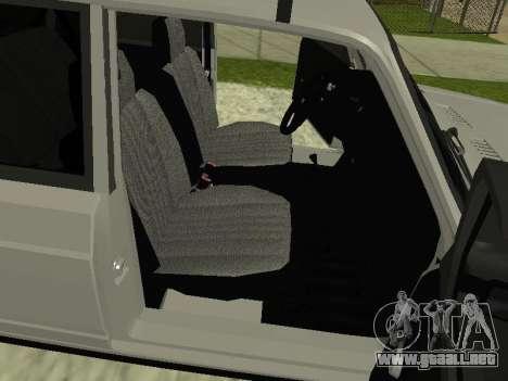 Vaz 2104 krasnoyarsk para la visión correcta GTA San Andreas