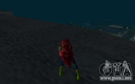 Aisha Rock Outfit from Winx Club Rockstars para GTA San Andreas tercera pantalla