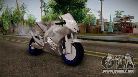 Dark Light Motorcycle para GTA San Andreas
