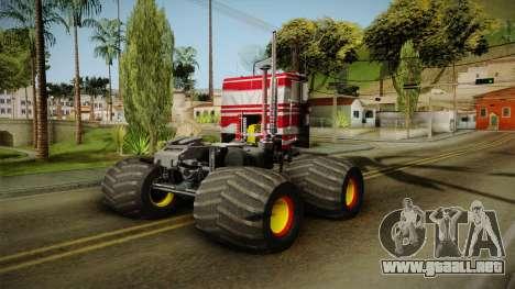 Peterbilt Monster Truck para GTA San Andreas left