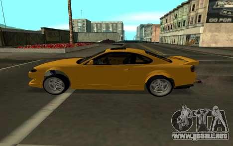 Nissan Silvia S15 para GTA San Andreas left
