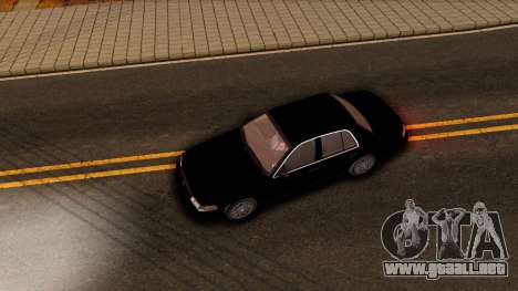 Ford Crown Victoria Detective 2008 para visión interna GTA San Andreas