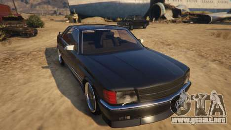 Mercedez-Benz 560 SEC para GTA 5