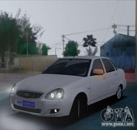 VAZ 2170 Priorik para GTA San Andreas left