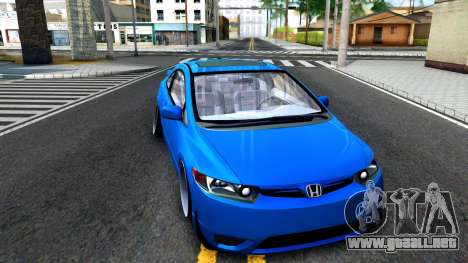 Honda Civic Si para GTA San Andreas left