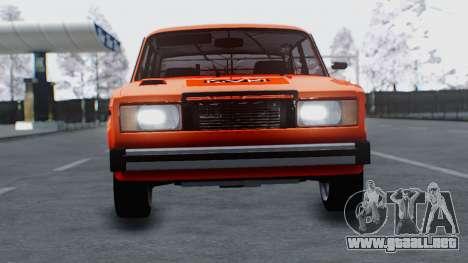 VAZ 2105 parche 3.0 para GTA San Andreas vista posterior izquierda
