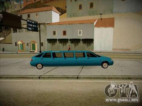 De los FLOREROS 2112 Odinnadtsatoye para GTA San Andreas left