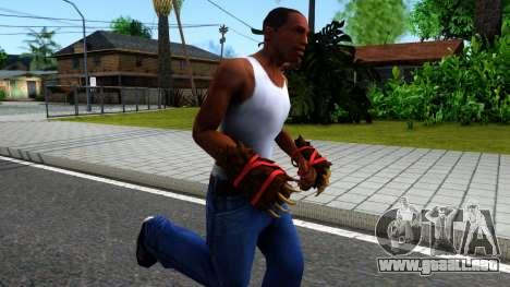 Red Bear Claws Team Fortress 2 para GTA San Andreas segunda pantalla