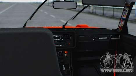 VAZ 2105 parche 3.0 para la visión correcta GTA San Andreas