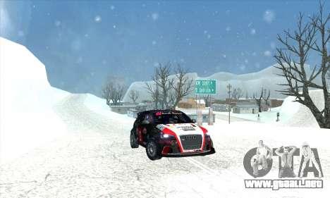 Audi RS3 Sportback Rally WRC para el motor de GTA San Andreas