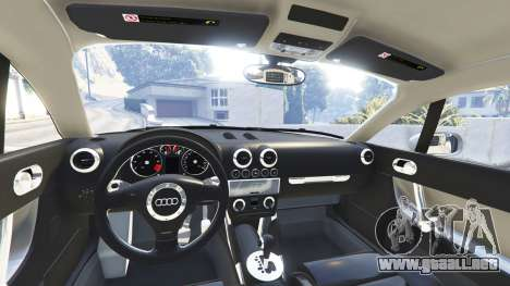 GTA 5 Audi TT (8N) 2004 v1.1 [replace] vista lateral derecha